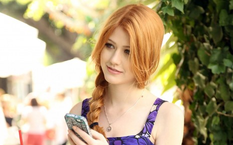 Beautiful Katherine Mcnamara HD wallpaper