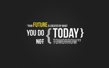 Futuristic text quotes HD wallpaper