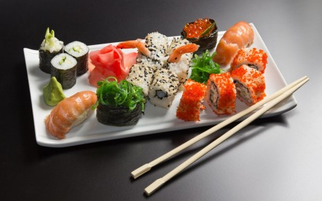 Sushi HD wallpaper
