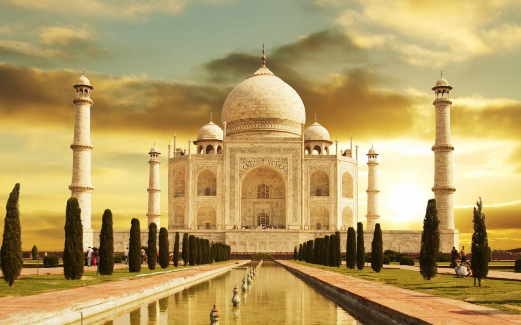 Taj Mahal India HD wallpaper