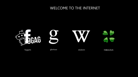 Welcome To The Internet HD wallpaper