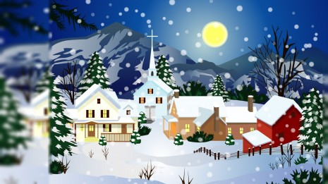 Animated Christmas wallpaper