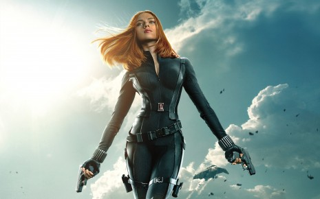 Black widow captain america the winter soldier-wide wallpaper