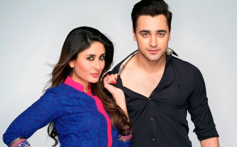 Download Kareena Kapoor Imran Khan HD & Widescreen Indian Actress Wallpaper