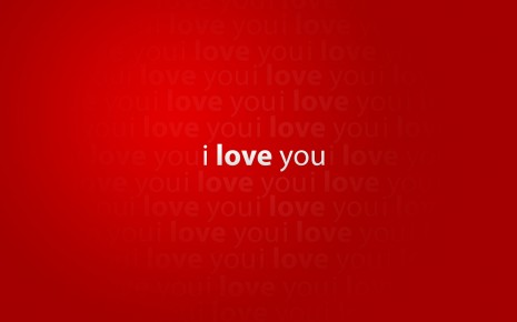 I love u wallpaper