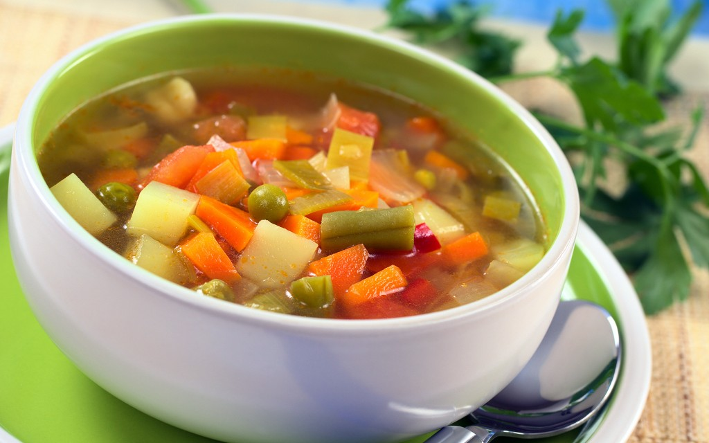 Soup Vegetables wallpaper