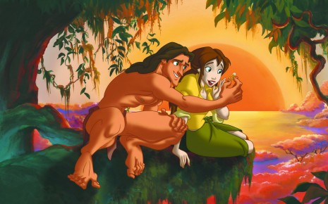 Tarzan And Jane wallpaper