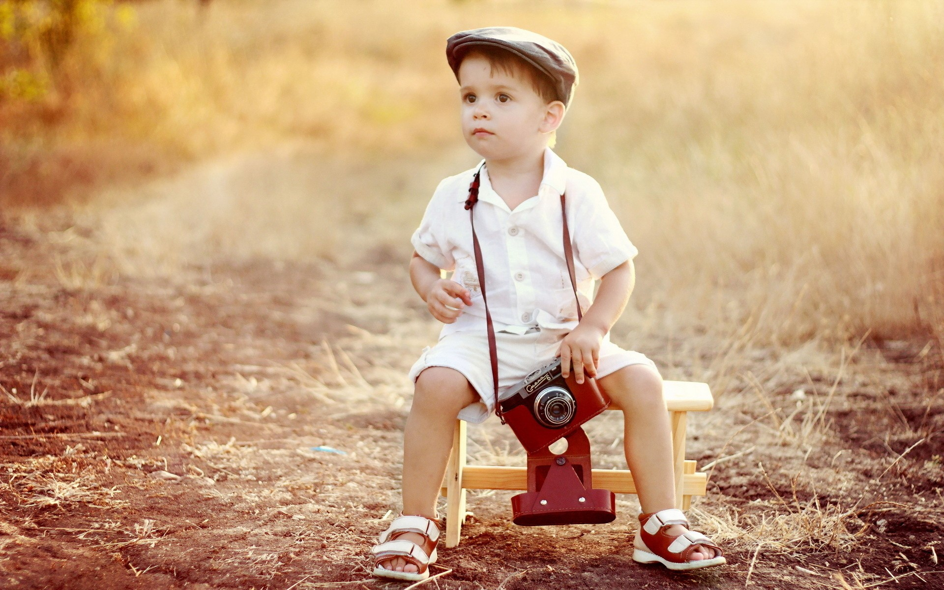 cute children with camera hd wallpaper   hd latest wallpapers