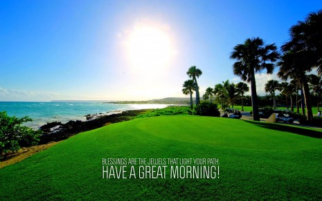 Good Morning Nature Wallpaper