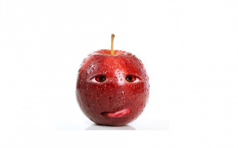 funny apple