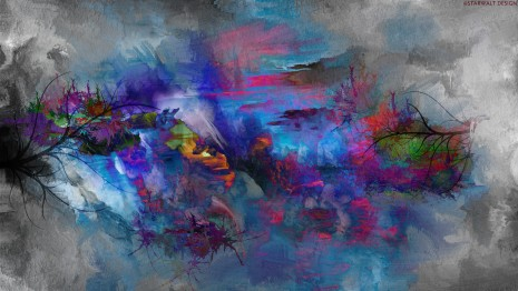 Abstract Painting Wallpaper