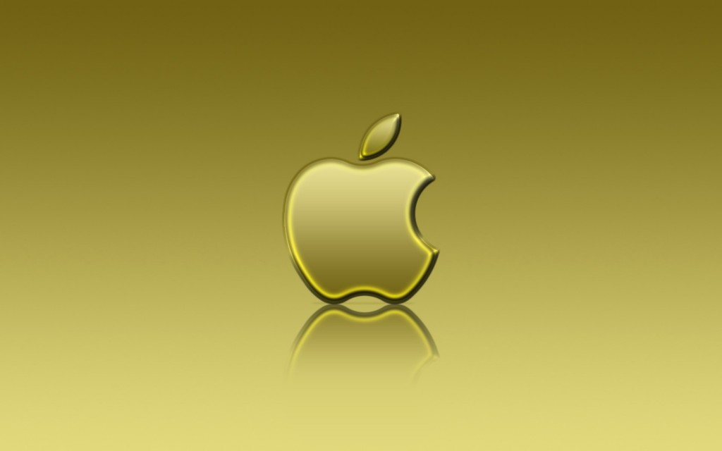 Golden Apple wallpaper