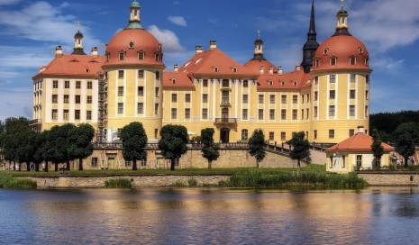 Moritzburg Castle wallpaper