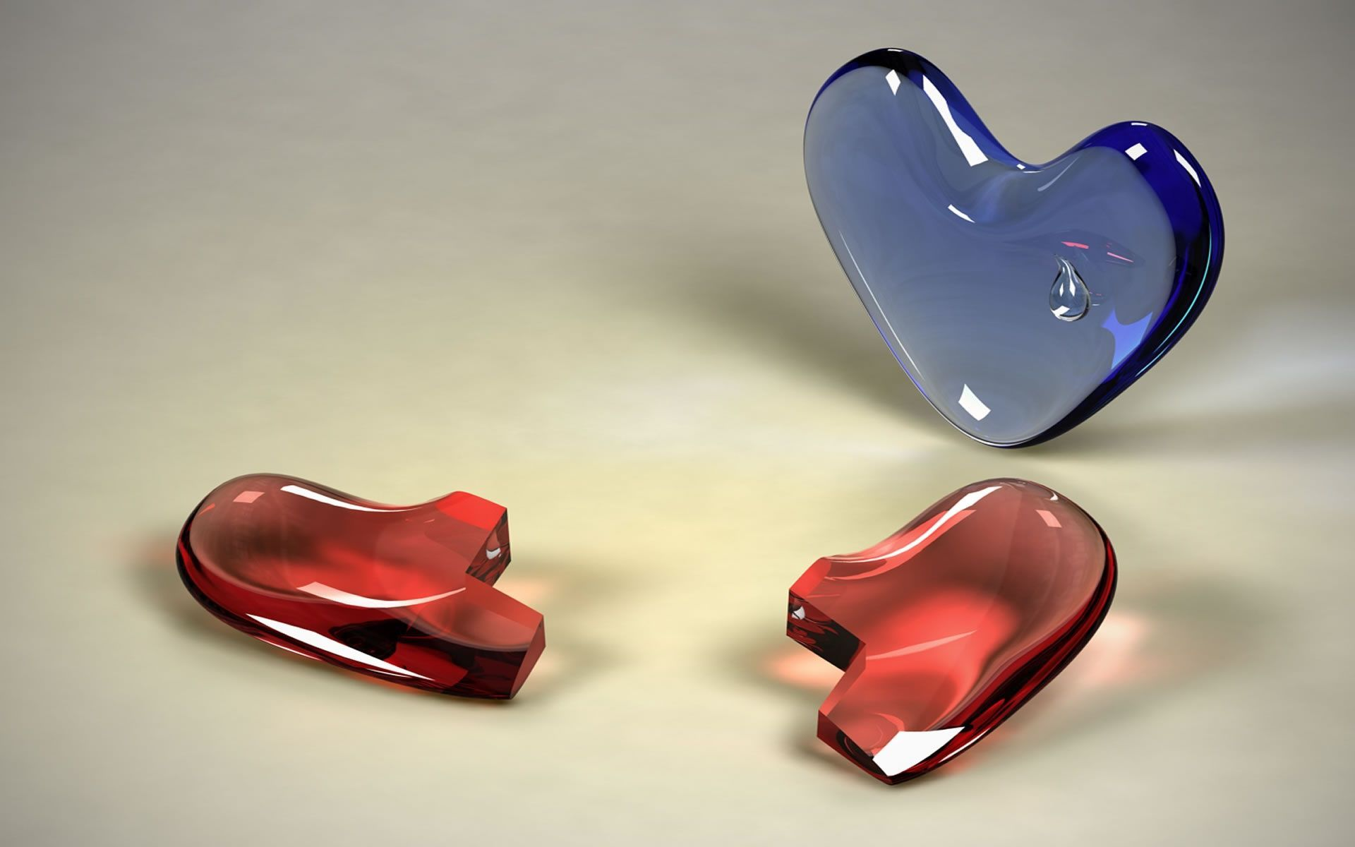 3D Broken Heart HD Wallpaper | HD Latest Wallpapers