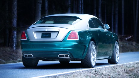 Mansory Rolls-Royce Wraith HD Wallpaper