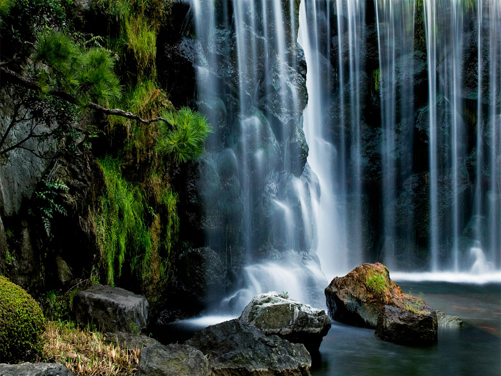 Cool Waterfall HD Wallpaper