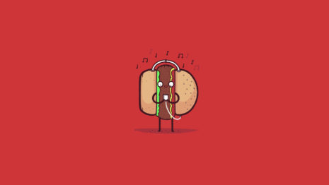burger-with-headphones-hd-wallpaper