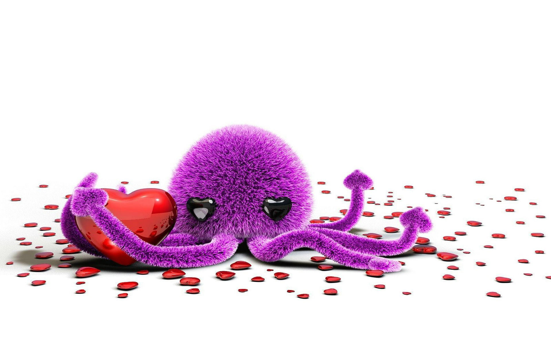 octopus-with-hearts-toy-hd-wallpaper