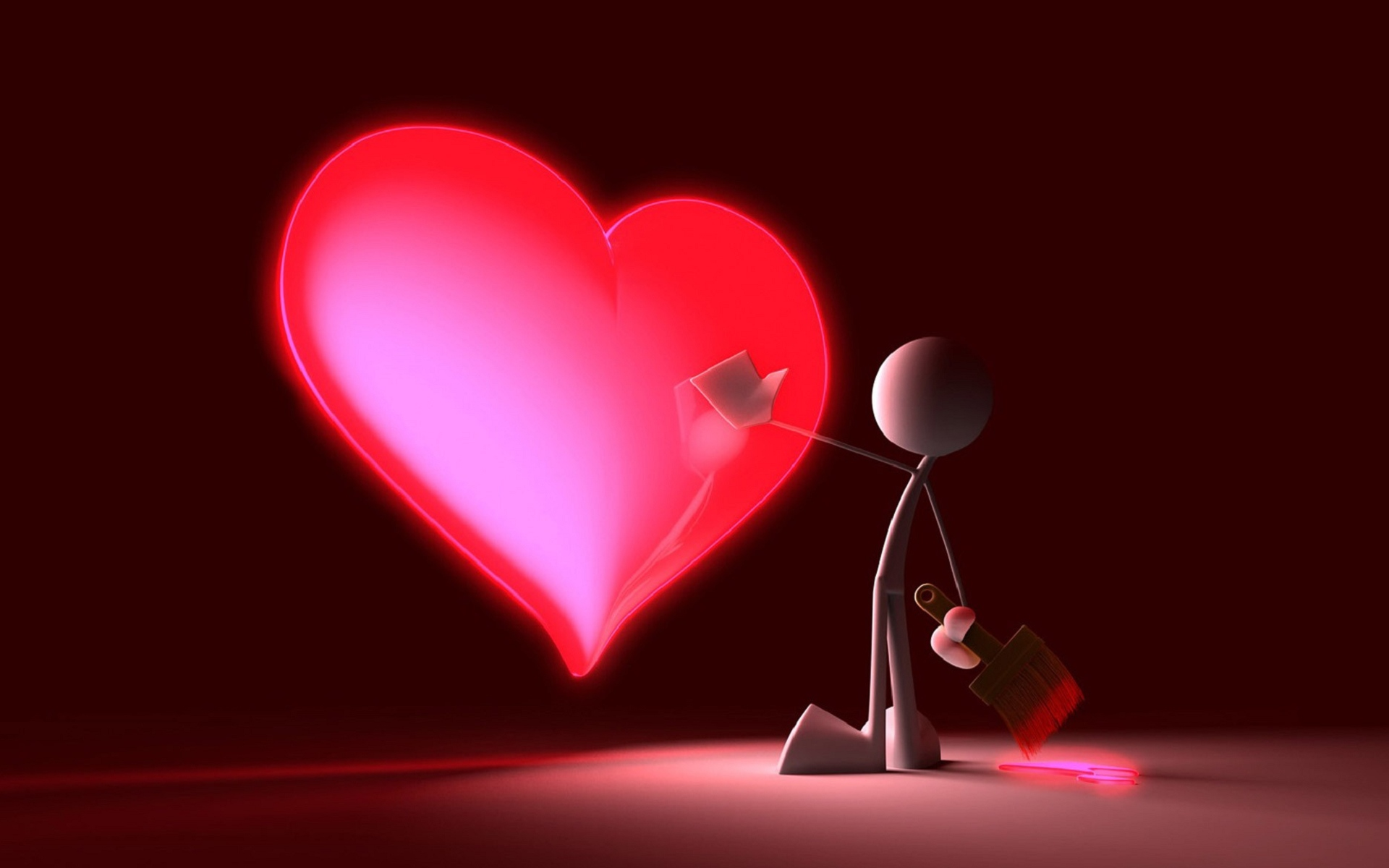 love heart 3d wallpaper | hd latest wallpapers