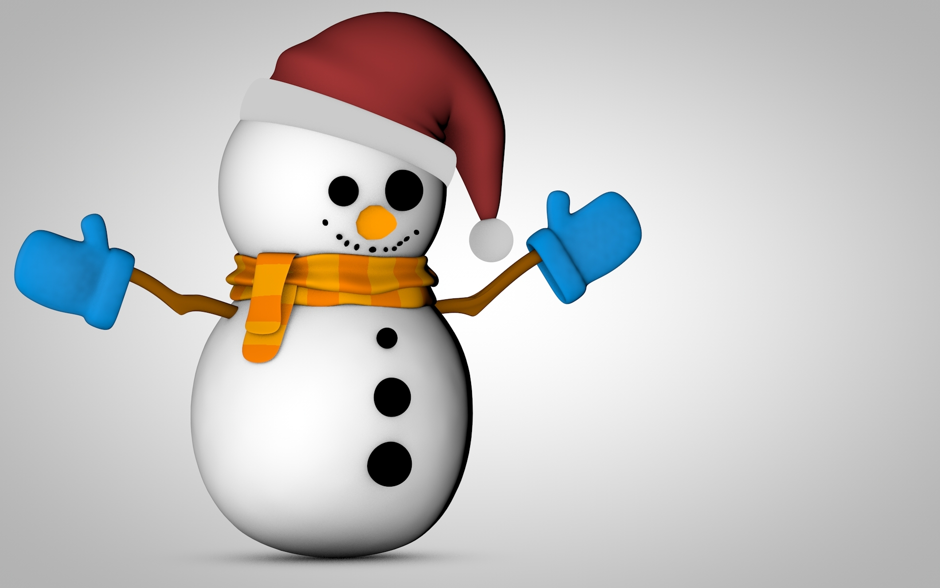 Snowman 3D HD wallpaper | HD Latest Wallpapers