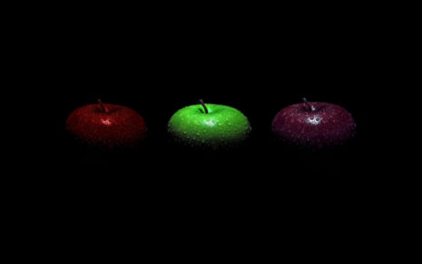 Apples photography HD wallpaper