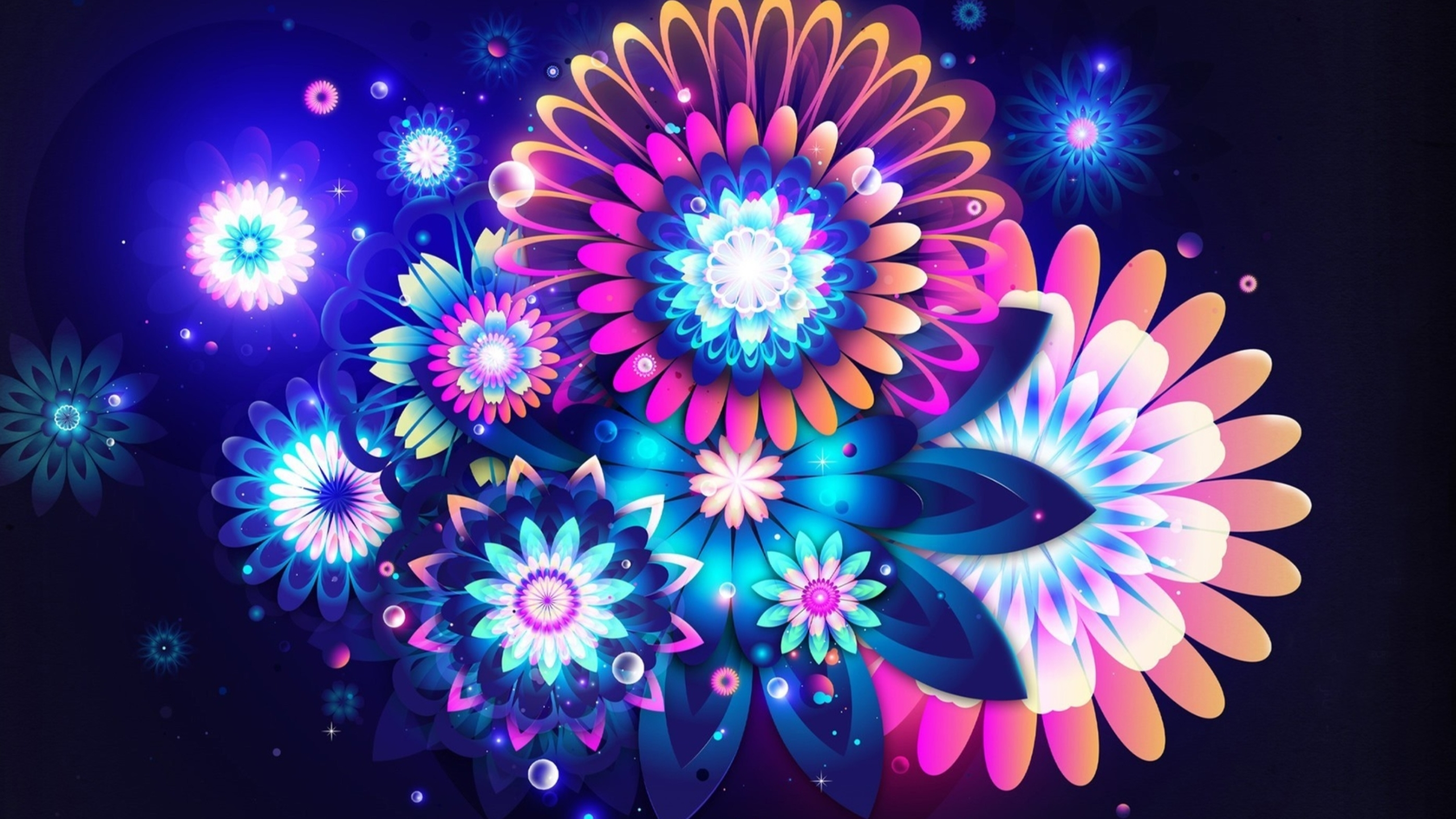 Awesome flower background HD wallpaper