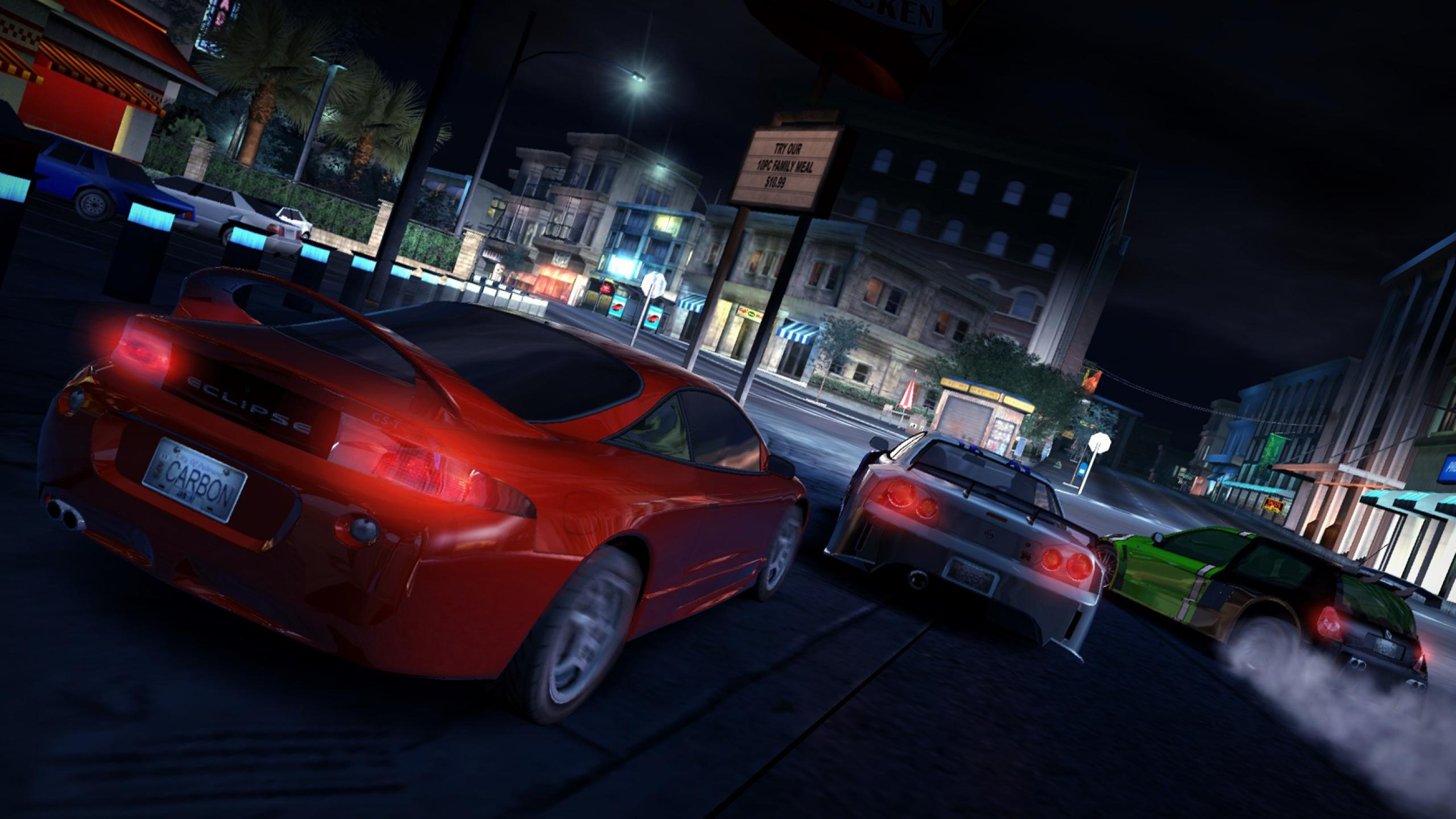 Need For Speed Carbon game HD wallpaper