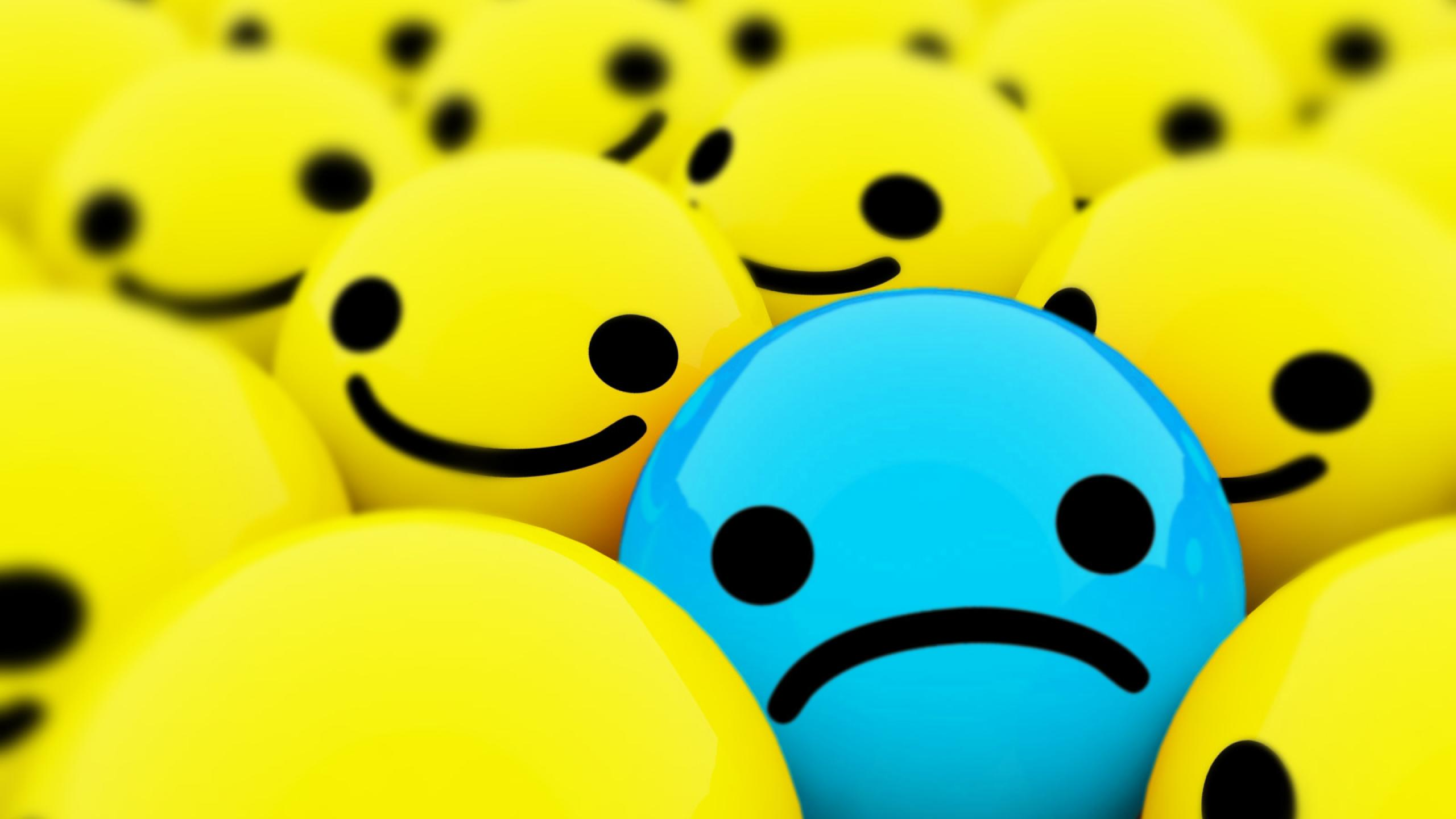 Sad face wallpaper