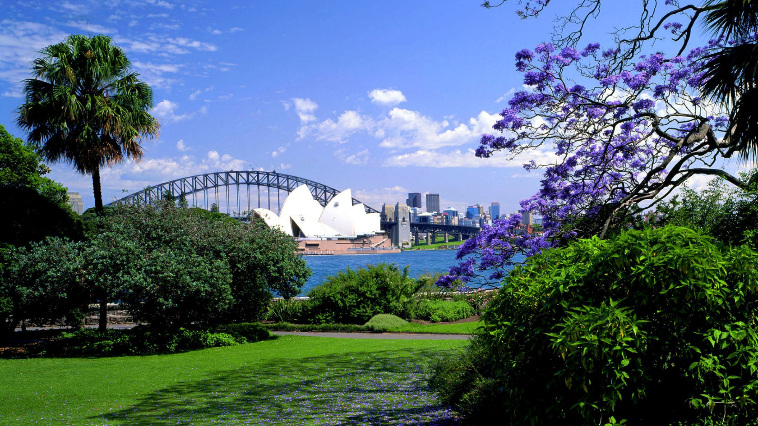 Royal Botanic Gardens HD wallpaper
