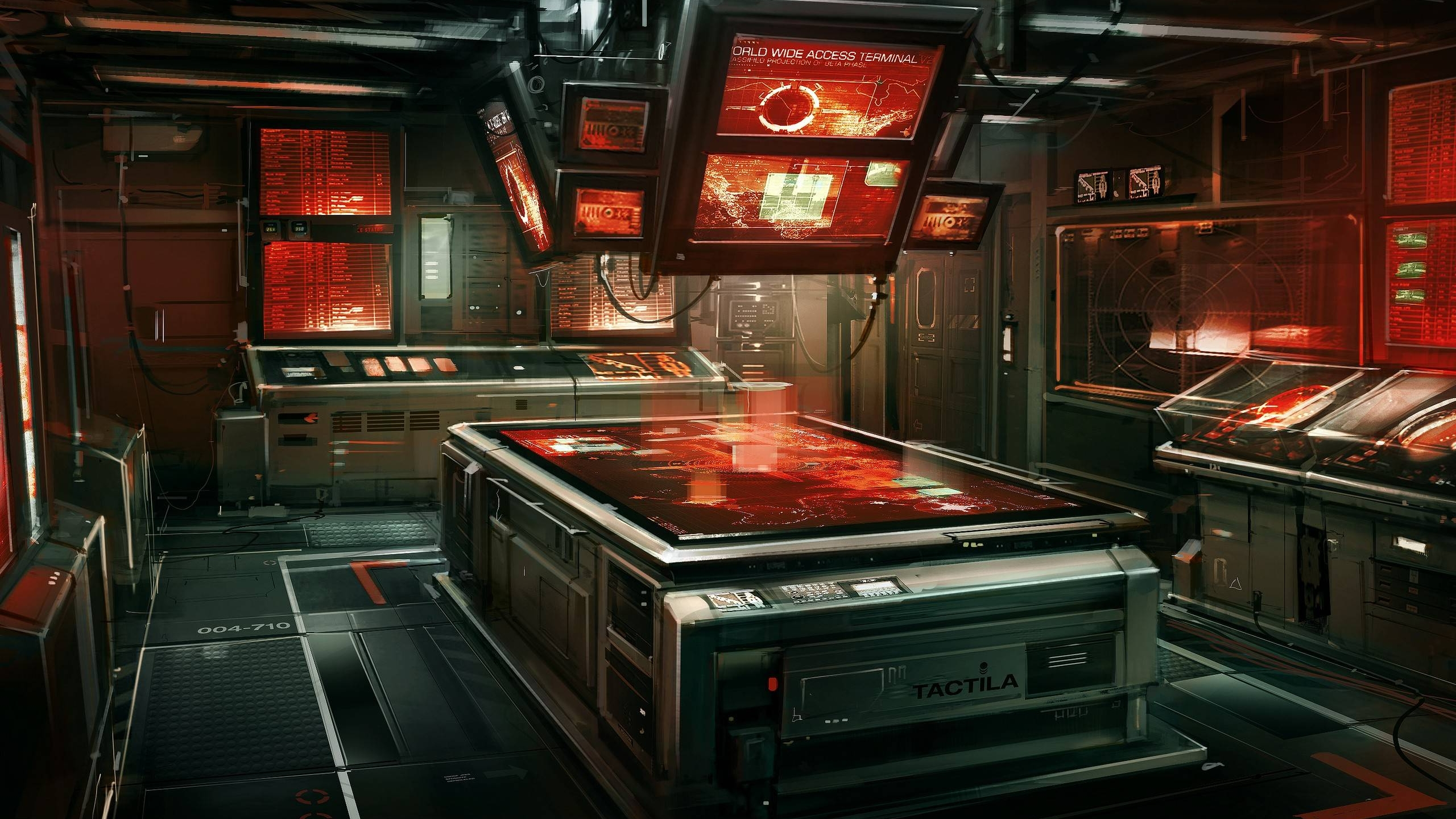 Science Fiction Laboratory wallpaper