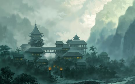 Asian Architecture HD Wallpaper