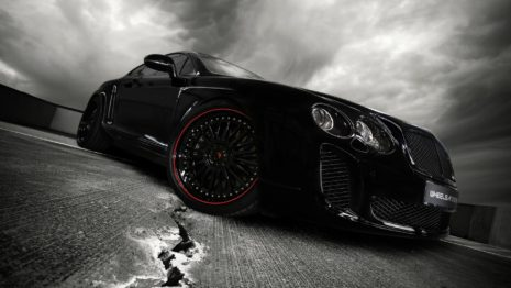 Black 2010 Wheelsandmore Bentley Continental Gt Side View HD Wallpaper
