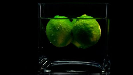 Green Fruits In Glass HD Wallpaper