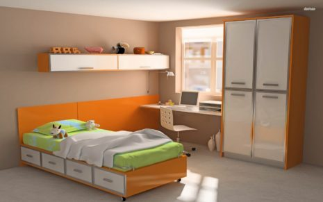 Kid's Room HD Wallpaper