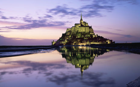 Mont Saint Michel HD Wallpaper