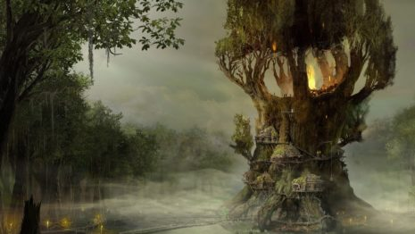 Treehouse HD Wallpaper