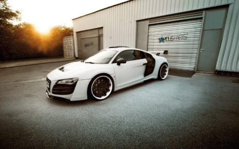 2014 Prior Design Audi R8 HD wallpaper