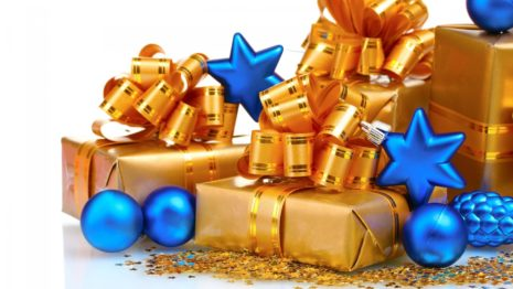 Christmas gifts decorations HD Wallpaper