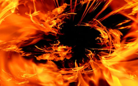 Fire art HD wallpaper