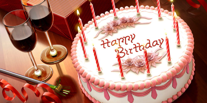 Happy Birthday Gift Cake Hd Wallpaper Hd Latest Wallpapers