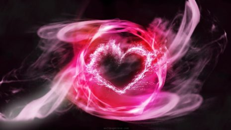 Heart Glowing HD Wallpaper