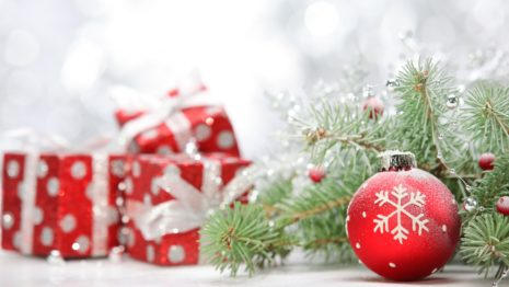 Holiday Christmas presents HD wallpaper
