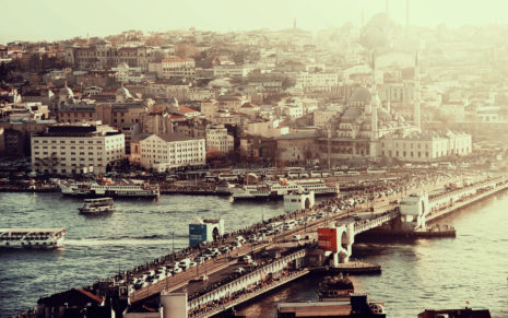 Istanbul architecture HD wallpaper