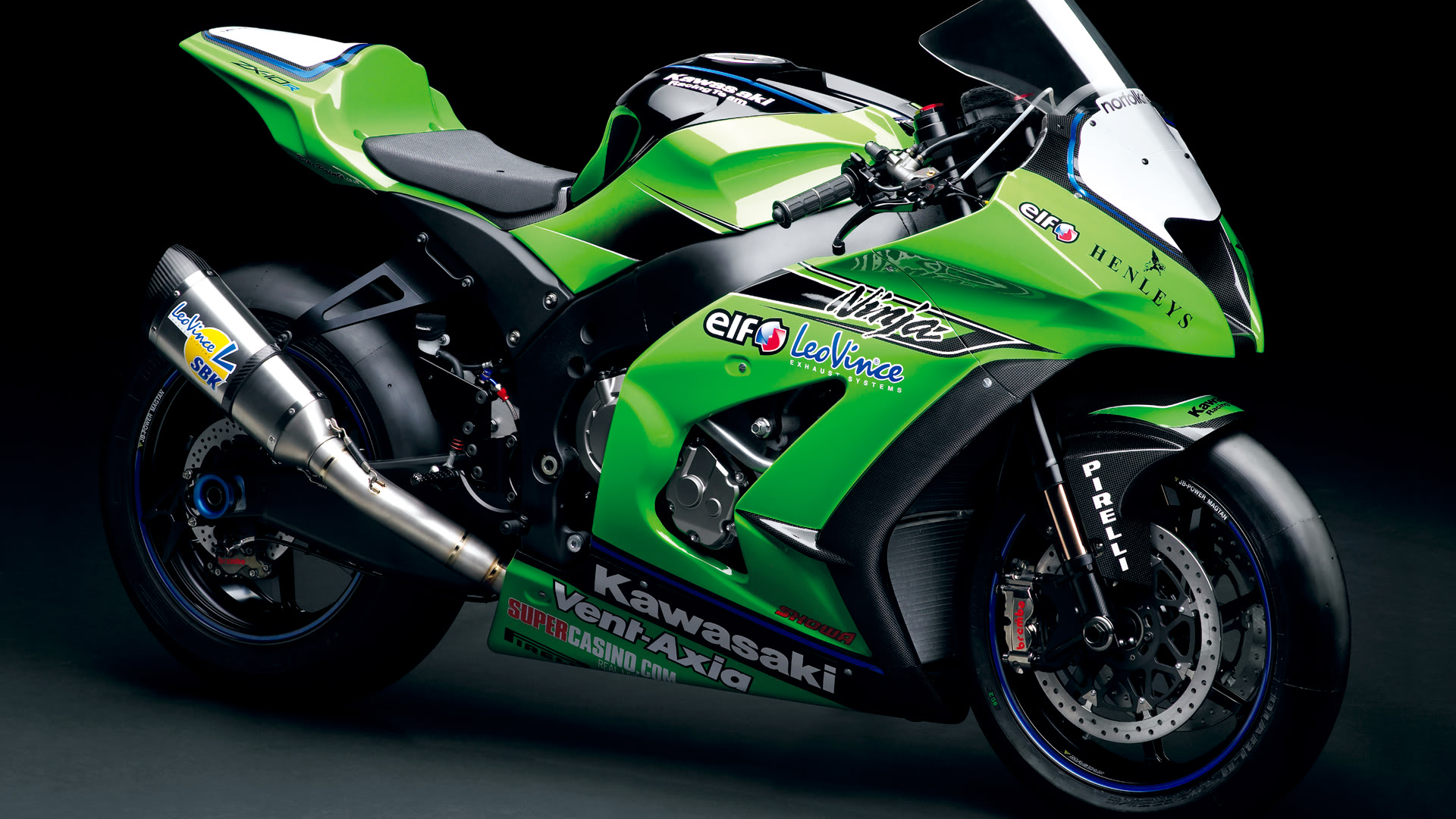 Kawasaki Vent Zx10R HD Wallpaper