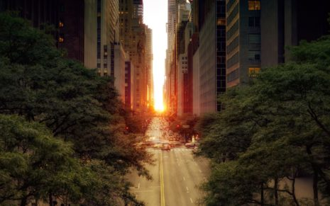 Manhattanhenge 2012 HD wallpaper