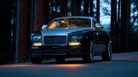 Mansory Rolls-Royce Wraith Front HD Wallpaper