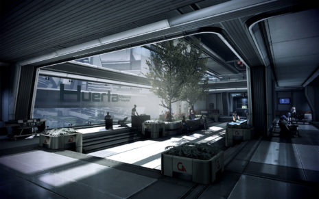 Mass Effect Hospital HD wallpaper
