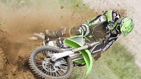 Motocross Drifting HD wallpaper