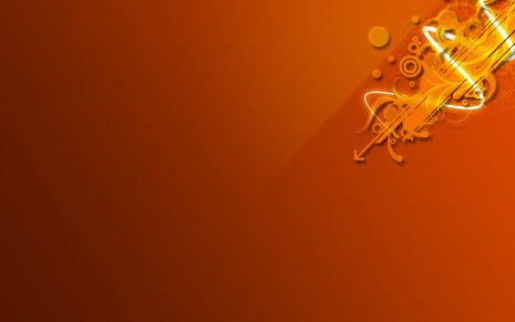 Orange Arts HD Wallpaper