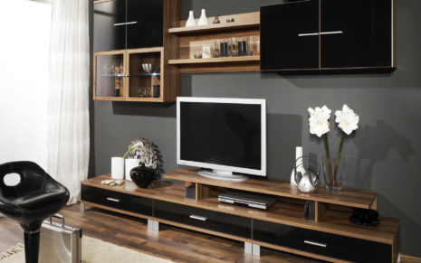 Organized living room HD wallpaper